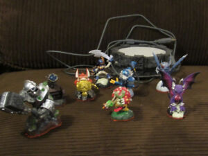 Skylanders Game and Charachters