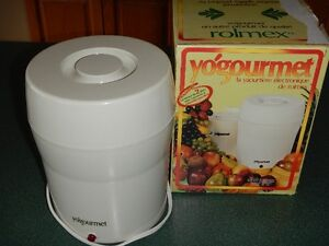 YOGOURMET Brand Electronic Yogurt Maker