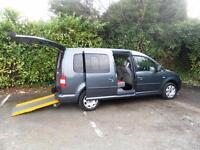 Volkswagen Caddy Maxi 1.9TDI Maxi Life WAV Wheelchair accessible vehicle