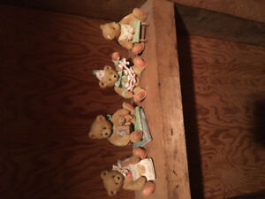Numbered Birthday bears