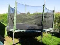 12 FT trampoline.