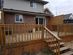 Three Bedroom double story house for rent (Brantford)