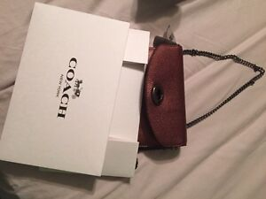 Coach leather cross body brand new with tag