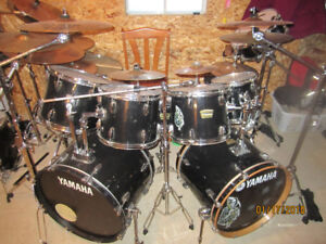 11 pc Yamaha/frankenstein w acc and 12 cymbals