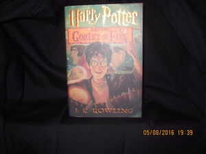 Harry Potter First Am. Ed. Goblet of Fire