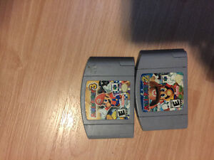 Mario Party 2&3 for Nintendo 64