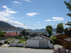 Penticton, Sudbury Beach house, steps to beach, weekly rentals