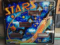 Stars pinball by stern for sale