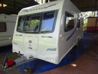 2012 6 berth end washroom Bailey Pegasus Ancona caravan for sale