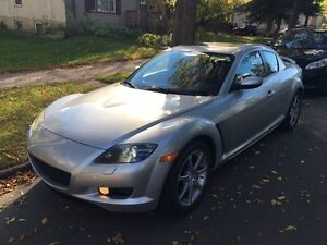 Mazda rx-8 2005 fully loaded, 100k, fresh paint and tune
