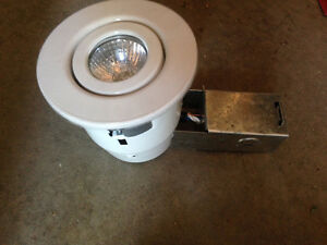 "new 4"" tilting & shower insert pot lights"