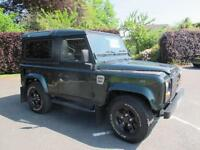 2001 LAND ROVER DEFENDER 2.5 90 COUNTY FULL LEATHER S/W TD5 5D 120 BHP DIESEL