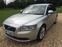 2009 (59) Volvo S40 1.6D DRIVe SE ONLY 70,000 MILES FSH 7 STAMPS IMMACULATE
