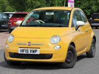 2015 Fiat 500 1.2 Colour Therapy 3dr Hatchback Petrol Manual