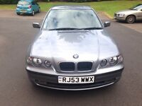 **LOW MILES, ONLY 55,000!** BMW 3 Series 316ti Compact, not Audi Mercedes Vauxhall Toyota