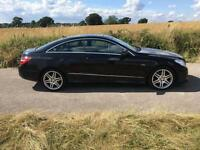 DIESEL MERCEDES-BENZ E CLASS 3.0 E350 CDI BLUEEFFICIENCY SPORT COUPE GUARANTEED