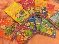 10 MR Majeika children's books.