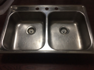 Wessan Double Basin Stainless Steel Sink