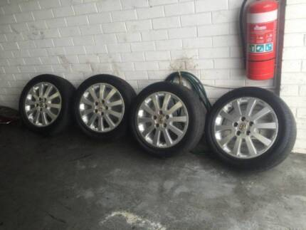 Holden TS Astra 16' Rims x 5 Mag Alloy Wheels with good tyres Bayswater North Maroondah Area Preview