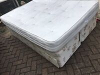 Double bed with drawers-Free delivery