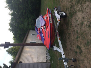 1998 Seadoo GSX Rocket ,2 fast for me,trade for 3 seater.