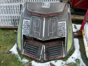 1973 Arctic Cat Eltigre Snowmobile 340 Hood Peterborough Peterborough Area image 2