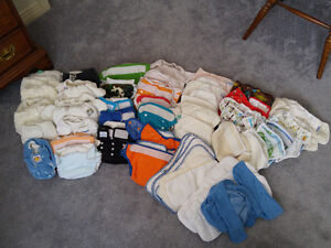 All the cloth diapers you will ever need!