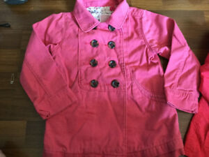 Old Navy Coral Pink Girls Jacket size 3 for $7