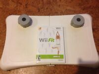 Wii Fit Balance Board and Wii Fit Game Disc