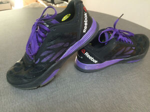 Reebok's exercise shoes for women size 8
