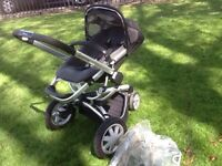 Quinny Buzz 3 with Rain Cover + Shopping Basket