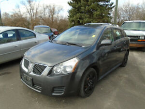 2009 Pontiac vibe 5sp $2450 certified
