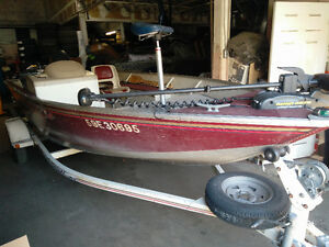16' 2001 Princecraft Holiday DX with 40hp 4 Stroke Yamaha