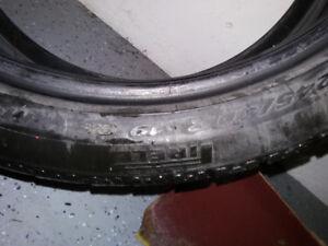 tire / pneu pirelli sotto zero