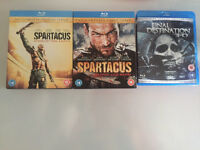 Blu-Ray selection - Spartacus and final destination