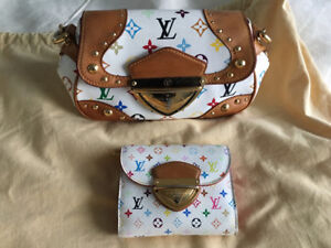 Auth Louis Vuitton Marilyn Multicolor Bag Limited Edition