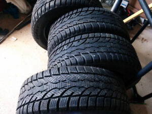 4. 205/55/16 rims and tires bolt pattern 114.3 in excellent cond