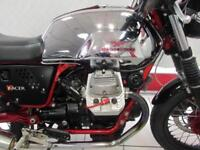 2011 MOTO GUZZI CAFE RACER EXCELLENT CONDITION STEEL TANK AND QUILL RACE CANS