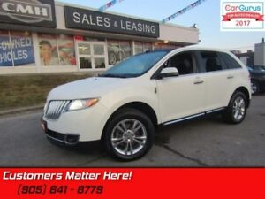 2013 Lincoln MKX   AWD, NAVIGATION, PANORAMIC ROOF, CAMERA