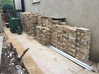 1000 reclaimed Victorian London stock bricks