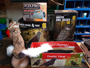 Foxpro wildfire with decoys