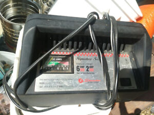 TWO DEEP CYCLE BATTERY CHARGERS