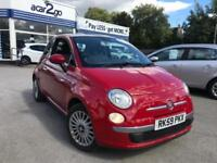 2009 Fiat 500 LOUNGE Manual Hatchback