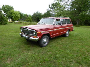 Jeep Wagoneer SUV en excellente condition