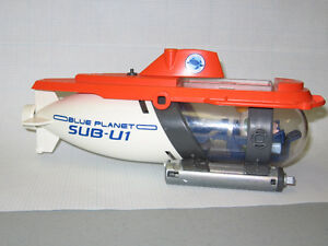 Playmobil action submarine with driver / scientist
