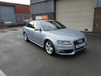 2009 09 AUDI A4 2.0TDI MULTITRONIC SLINE - AUTO - ONLY 99,000 MILES WARRANTED