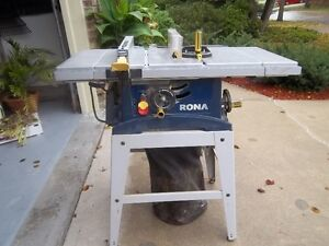 10in Rona table saw