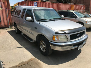 1997 Ford F150 XLT  extended cab is sold as is