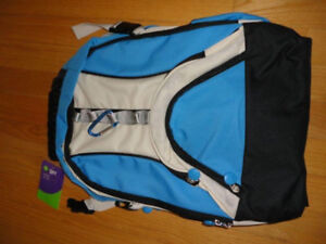 White Blue Unisex School backpack - New with tags