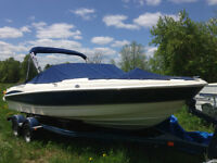 20' Maxum SR3 260hp 5.0L only 55 hrs merc warranty to June 2017
